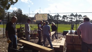 A day of heavy lifting